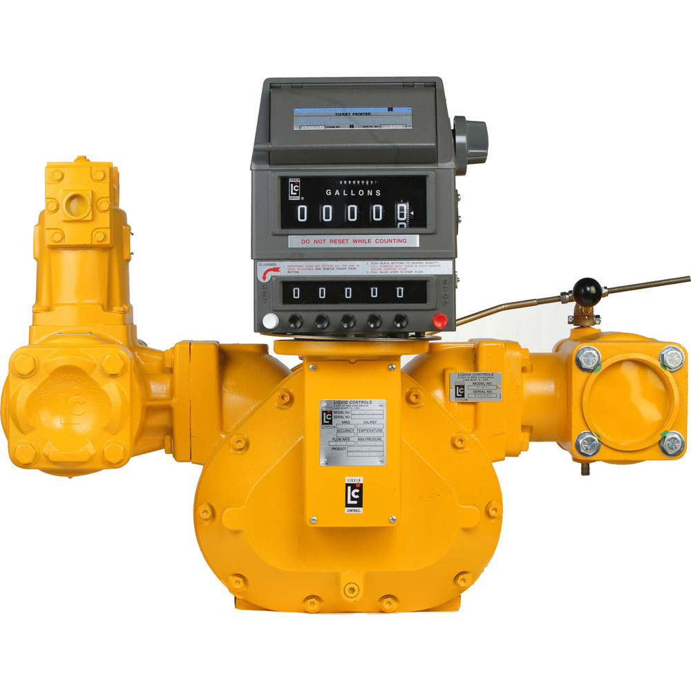 lc positive displacement flow meters